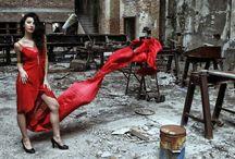la dama rossa by leonardo camellino