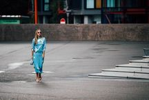 fashion week London SS18 street style