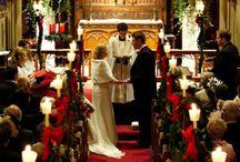 Christmas Church Wedding decorations / by JoAnna Moyers