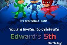 invitacion de cumpleaños
