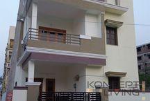 Konceptliving Villa Interior Ideas / Konceptliving Villa Interior Design and Decoration Ideas.Shasidhar Miyapur Villa Interior Designs.