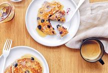 Weekend Pancake Inspiration / Because dreaming about our weekend brunch always seems to make the weekdays go faster.
