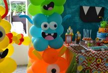 Kinderfeest monsters