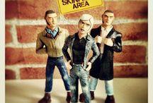 Skinhead Figures