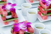 Healthy wedding catering
