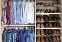 Men's dream closet
