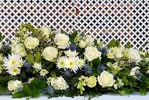 Casket floral arrangment