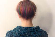 hidden color hair