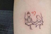 Tatuagem em homenagem à irmã