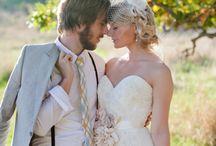 Wedding Day - Bride + Groom / by Jamie Blow
