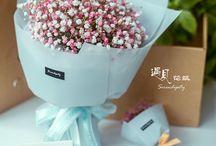 букеты цветов