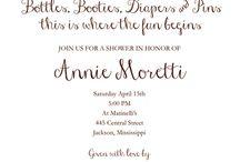 Invite / by Amanda Frick Kraus