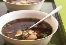 Soup's On! / Soup and Stew Recipes / by Sarah C.
