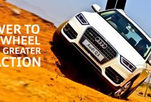Audi Q Drive 16th-17th Aug 2014 / The Audi Q Drive is an opportunity to witness the supremacy of Quattro technology.