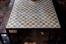 tavolo esterno e interno