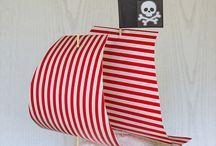 Kindergeburtstag Piraten-Motto