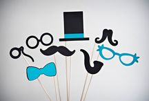 photo booth props / by www.handmadebykelly.com