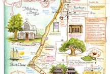 Map Infographics / by Susie Wyshak