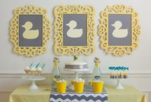 Duck baby shower / by Paula Biggs for Frog Prince Paperie