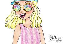 рисунки карандашом девушка поэтапно