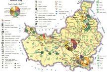 Harti administrative si economice din Romania