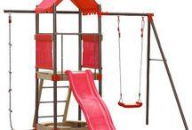 Holzklettertürme - Outdoor Spielzeug