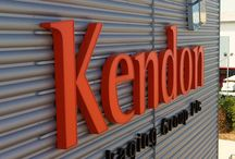 Signage | Kendon Packaging Warehouse / To keep up to date with latest projects visit www.octink.com