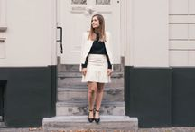 French girl style / Simple, elegant, classic, and timeless! The art of French girl style relies on classic staples.