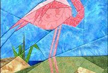 vogelpatroon roodborstje