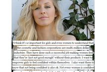 Natural beauties / The natural women who inspire us