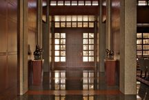 Entry Doors / Grabill Windows and Doors fabricates custom entry doors in aluminum clad, bronze clad, dual metal and wood.   Full spectrum of options available - built to exact specifications.