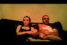 Dad And Daughter Watching A Scary Movie Together.. Funny Video