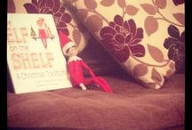 Evans' Elf on the Shelf 2013 / Elf on The Shelf 2013. This is the first year we've done Elf on The Shelf and it's a massive hit already. Friends and family love it as well as our two gorgeous girls. Currently in the middle of elf wars - shared nightly on Facebook with friends to see who has the best pose of the day :) attracting much attention and laughter - Enjoy the antics of Buddy :)