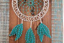 K&H string art