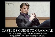 I {Heart} Castle / All things Castle from the TV Show Castle! I love Nathan Fillon! I will marry that man someday!
