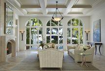 Palm Beach Estate / Gorgeous estate in Palm Beach with exquisite outdoor patio design.  Photo by Robert Brantley #RobertBrantley #AnnieSantulli #AnnieSantulliDesigns #PalmBeach