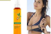 Лятно настроение с Клоран / Продуктите на Клоран също могат да ви донесат лятно настроение! Ароматни и вдъхновяващи, те са истинско удоволствие за Вашата коса!