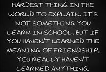 Friendship Quotes / Friendship Quotes
