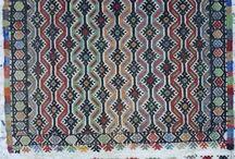 small oushak kilim rugs