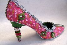 Altered shoe heaven / by Cyndie Crow-Brown