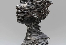 Futuristic sculpture