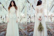 Boho wedding dress , Boho Bride , Suknia ślubna boho