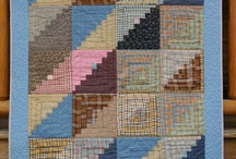 QUILTS LOG CABIN