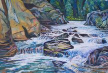 Ani Eastwood Fine Art / Gorgeous landscapes and riverscapes in oil and as prints by Dani Eastwood of Missoula, Montana