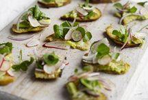 Watercress + Apps / Guiltless appetizers, what we all need and love.