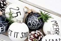 Black and white christmas