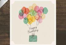 Happy Birthday デザイン