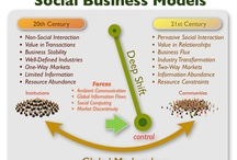 Social Business / Infographic that summarize, synthesize, and/or represent the emerging patterns in social business, collaborative orgs, and related themes.  / by Sahana Chattopadhyay