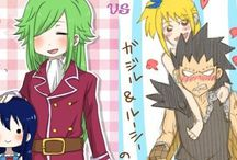 Parejas Fairy tail
