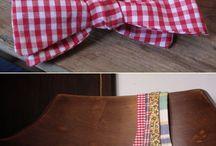 Flugor  / Bow tie diy